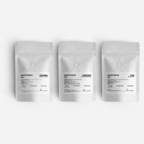 filtre kahve üçlü tadım seti